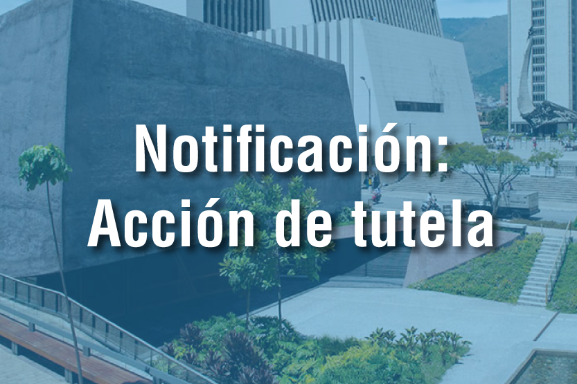 notificaciones - Acción de tutela